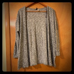 Gray cardigan (H&M)